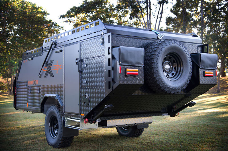 Simple AUSTRALIAN OFF ROAD CAMPERS ECLIPSE ZR RV Towing Campertrailers