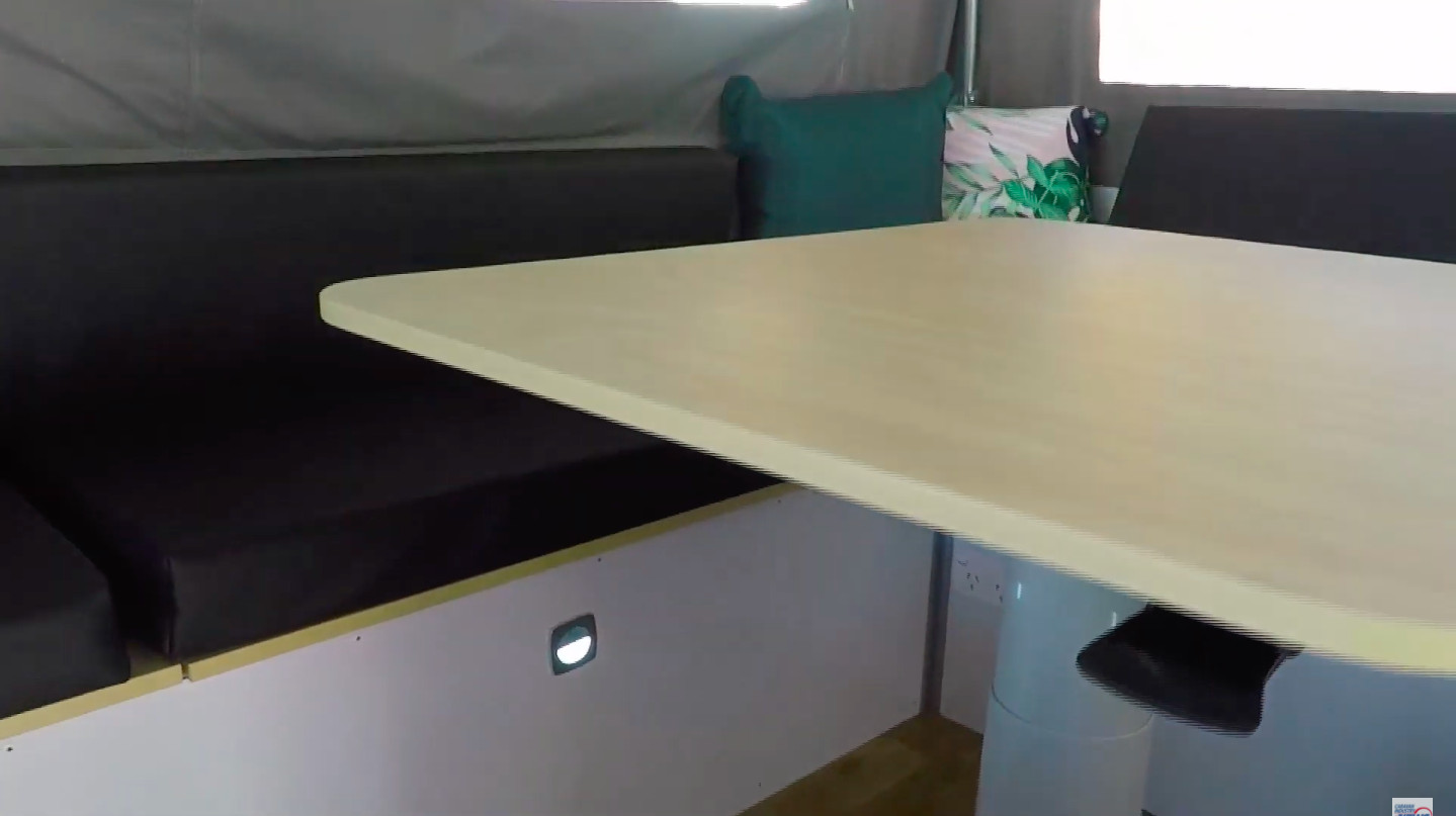 Cub Campers Drifter II internal cabinetry