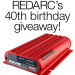 REDARC 40th Anniversary Competition Give Away